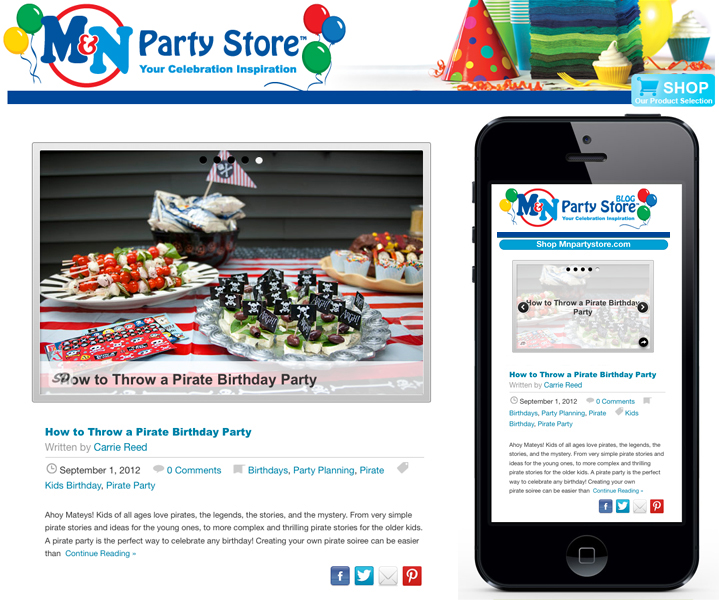 M&N Party Store Blog
