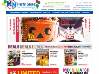 M&N Party Store Website